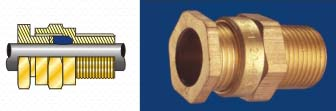 A2 Type Brass Cable Glands A2 Cable Glands