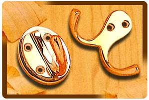 Stepped Coat Hook / Double Robe Hook
