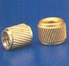 Brass Helical Moulding Insert Molding Nuts