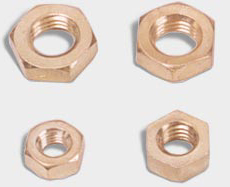 Hex full nuts  BRASS NUTS  Hex lock nuts  Hex rivet nut Square nuts  Wing nuts